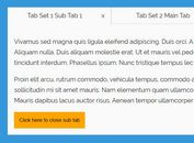 Nested Tabbed Content With jQuery - d3tabs