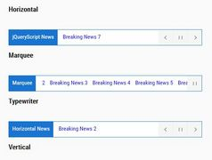Feature-rich News Ticker With Controls - Acmeticker