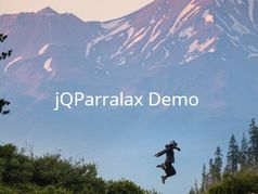 Parallax Effect For DOM Elements With BG Images - jQParralax