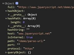 Parse URL In jQuery - ddUrl