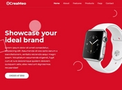 Stylish Product Landing Page Template With jQuery & Bootstrap