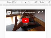 Responsive Youtube Video Embed Without Black Bars - responsive-youtube.js