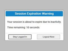 Session Expiration Warning Popup Plugin - jQuery Idle Hands
