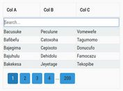 Enable Sorting, Filtering And Pagination For Table - jQuery fancyTable