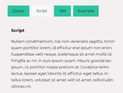 Auto Generate Tabbed Navigation With jQuery - Taby