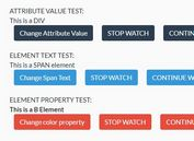 Watch For CSS/Attribute/Property/Input/Select Changes - jQuery selectWatch