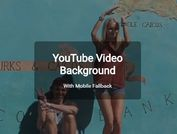 Youtube Video Background With Mobile Fallback - yt-video-background.js